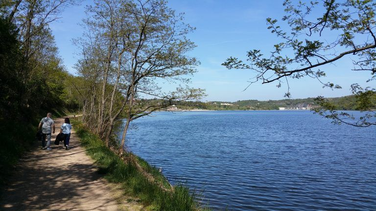 Difficultés de passage en bord de Loire