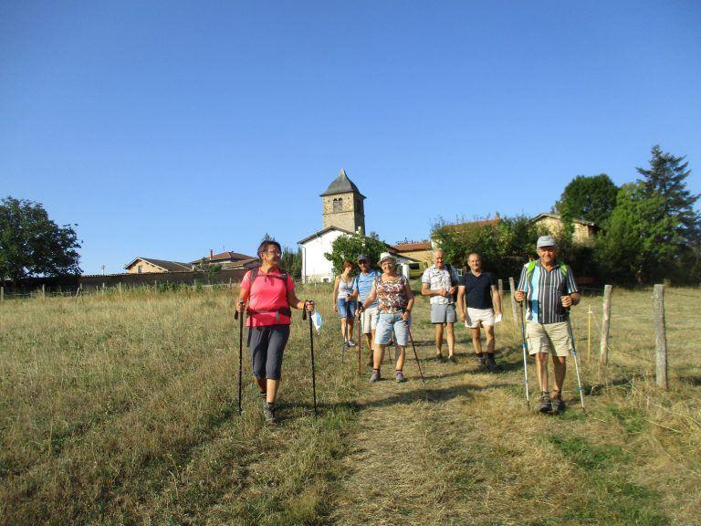 468 marcheurs à la rando France Bleu de Ste-Agathe-en-Donzy