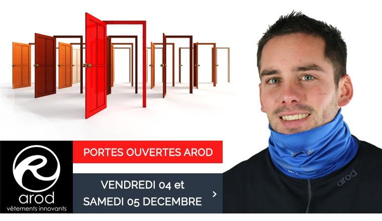 Portes ouvertes Arod : rendez-vous les 4 et 5 décembre