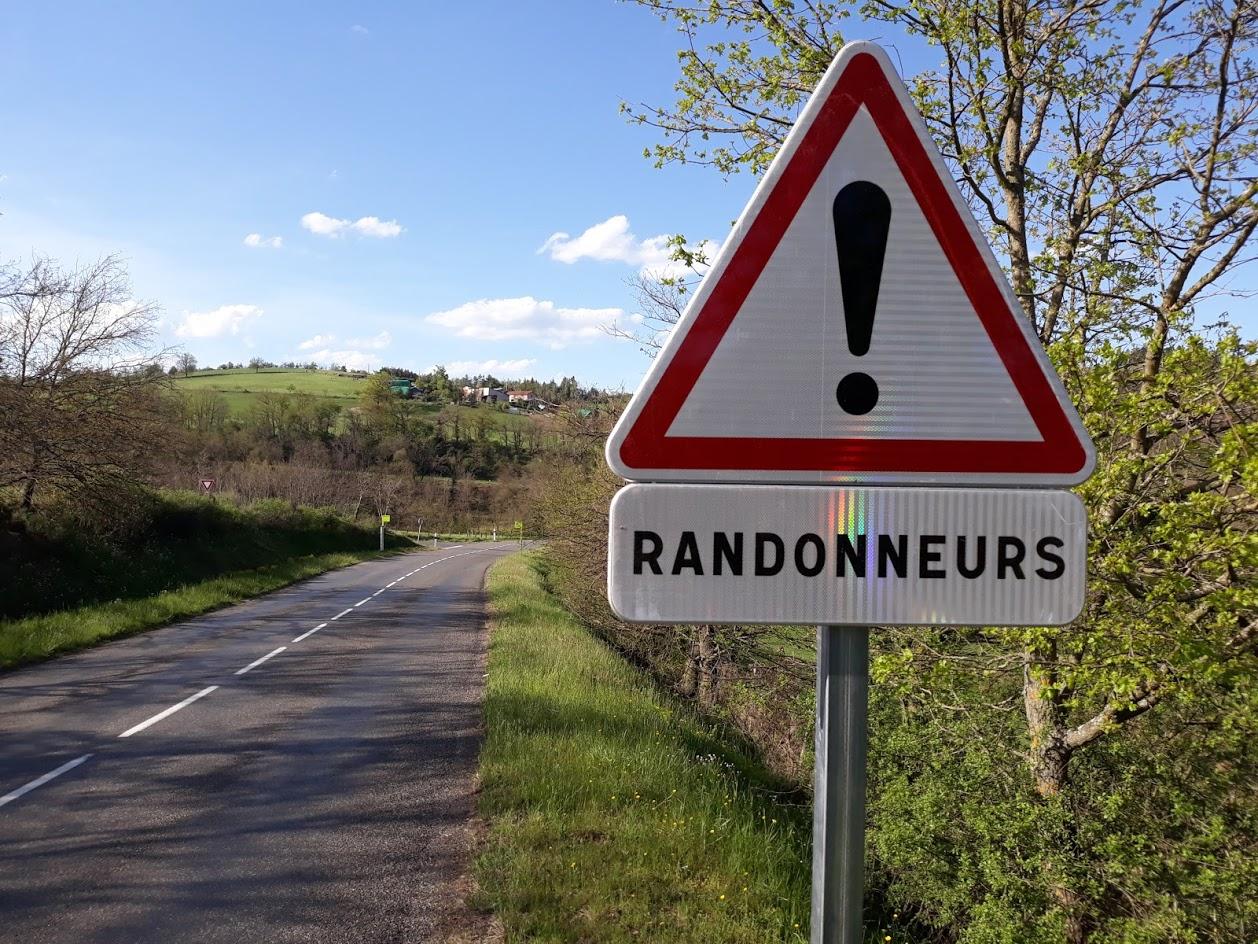 Attention, randonneurs !