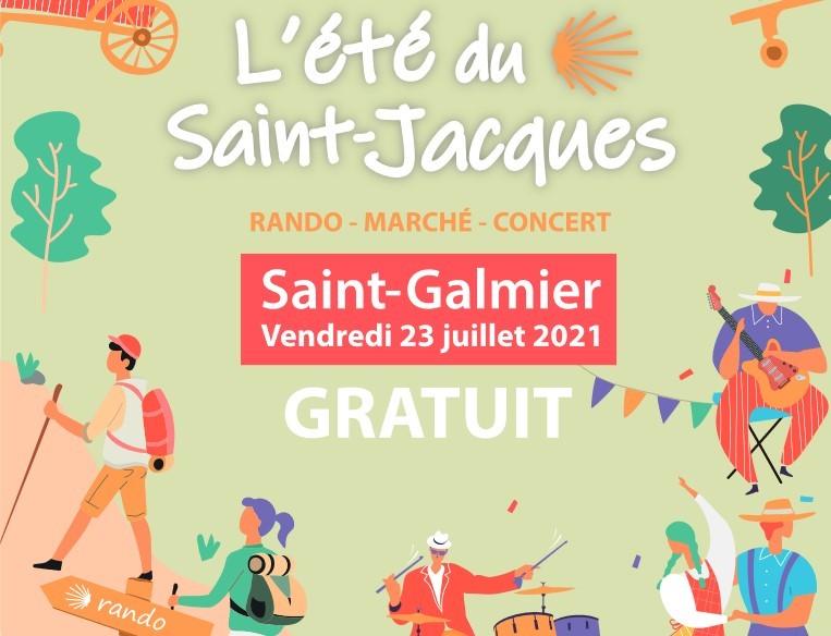 """Saint-Galmier : sur le chemin de Compostelle avec les """"Pas Pétillants"""""""