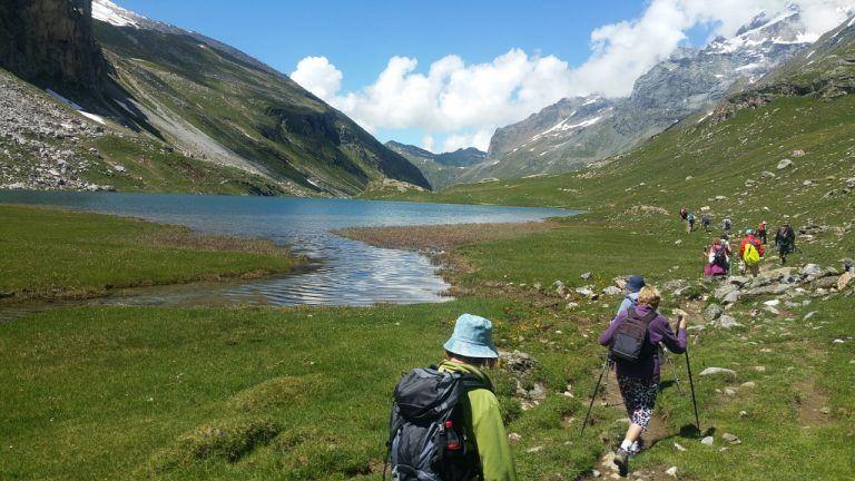 60 Ligériens sur les sentiers de la Vanoise