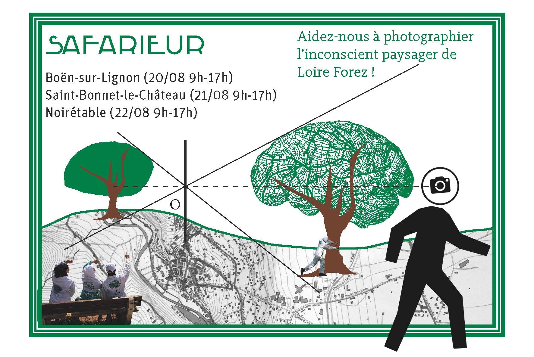 """Des """"safarieurs"""" pour photographier en randonnant"""