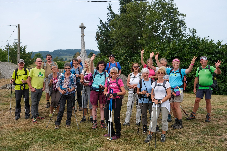 15 randonneurs ont découvert les Monts de la Madeleine